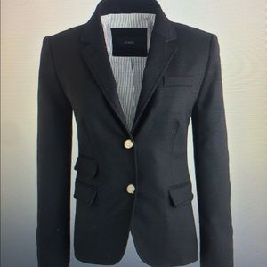JCrew Schoolboy Blazer in Black